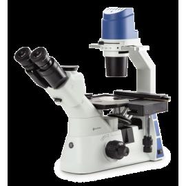 Microscope inversé à...