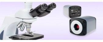 Microscope et caméra